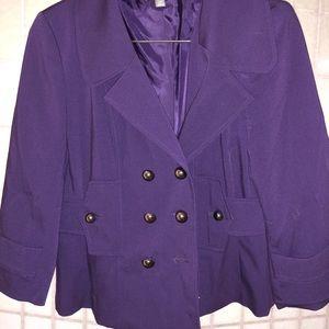 Apt 9 Purple Blazer